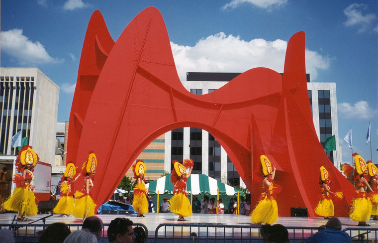 Photo Of Dancers During Grand Rapids Festival