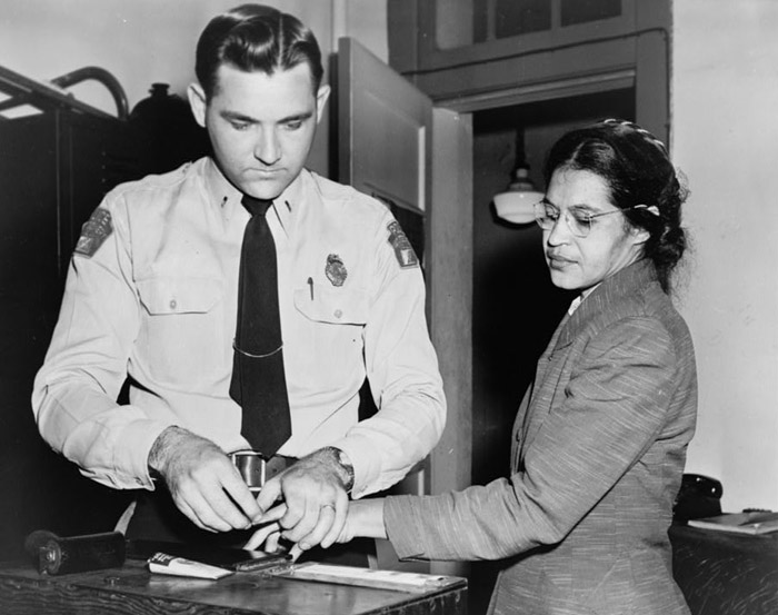 Image result for rosa parks is arrested