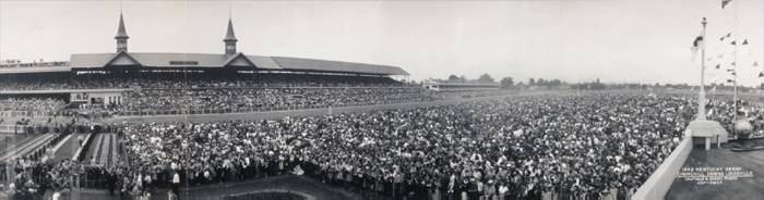 1942 Kentucky Derby, Churchill Downs, Louisville, Kentucky.